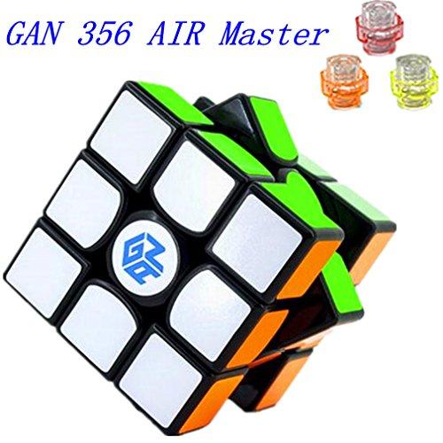 Kingcube Gans 356 Air (Master) 3x3 Black Magic cube Gan 356 Air (Master) 3x3x3 Speed cube With New Blue Core (Air 3 compare prices)