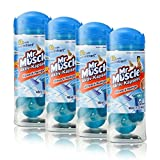 4x Mr Muscle Active capsules 12 capsules source of fresh, all-purpose cleaner
