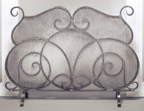 Cheapest Black Friday Firescreen in Pewter  Black Friday