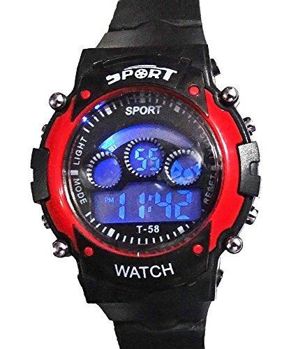 Cartney Sports Digital Black Dial Children Watch