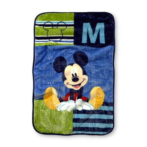 "Disney Baby Mickey Mouse Infant Boy'S Fleece Throw Blanket - 30"" X 45"" front-102876"