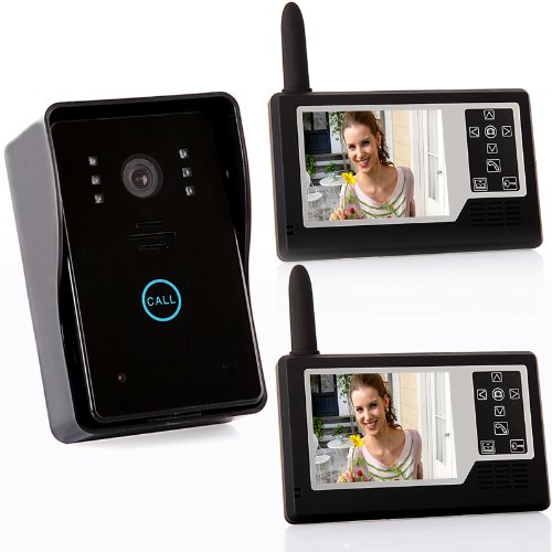 WIRELESS Entry Door Gate Flat Phone Intercom Security System 2.4Ghz