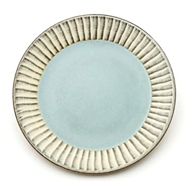 Celadon Plate with Brushwork