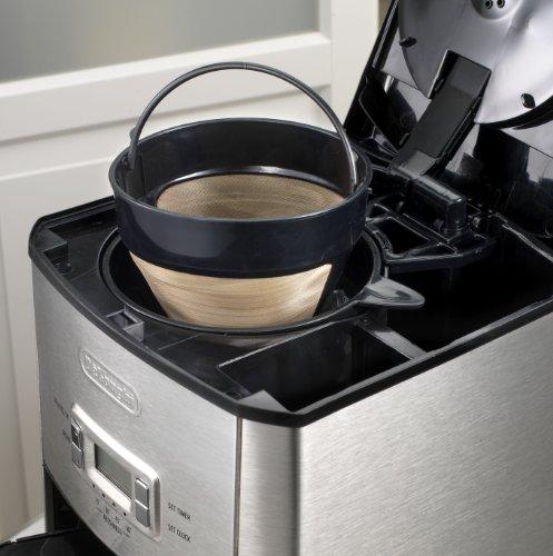 DeLonghi DC514T 14-Cup Programmable Drip Coffeemaker Black Coffee Maker