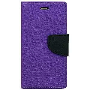 MicroMax Bolt Q336 Flip Cover By Relax And Shop (Orchid Purple)
