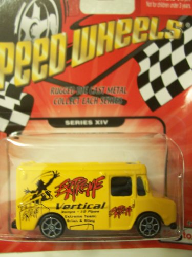 Speed Wheels Panel Truck ~ Extreme Vertical (Series XIV)