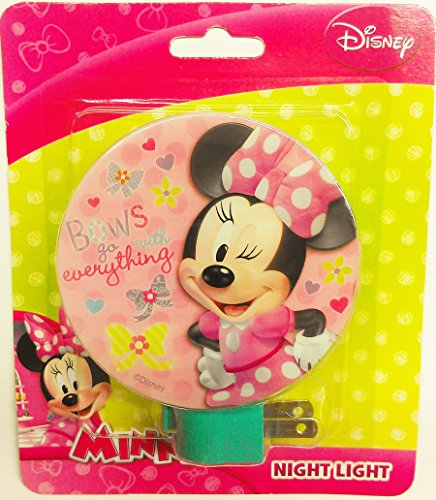 Disney Minnie Night Light - Assorted styles