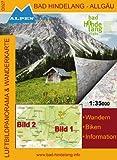 Alpenwelt Karte, Bad Hindelang – Allgäu (Bad Hindelang – Allgäu Wander- und Radkarte) Rezessionen Picture