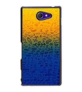 PRINTVISA Abstarct Pattern Case Cover for Sony Xperia M2 Dual D2302::Sony Xperia M2