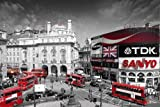 London Piccadilly Circus Maxi Poster 61x91.5cm