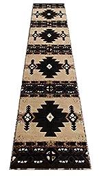 South West Runner Rug 2 Feet 4 Inch X 10 Feet 11 Inch Berber Design # C318