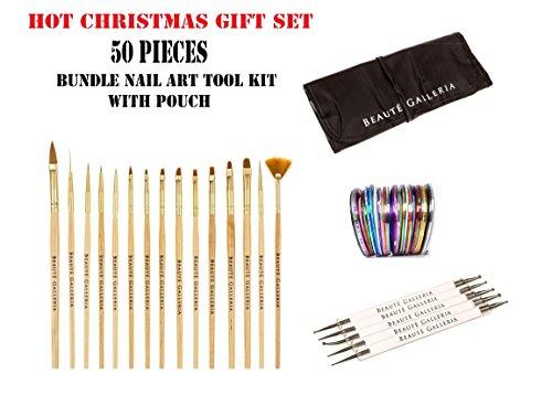 beaute-galleria-50pcs-bundle-nail-art-tool-kit-5pcs-dotting-pen-10-sizes-15pcs-acrylic-nail-art-desi