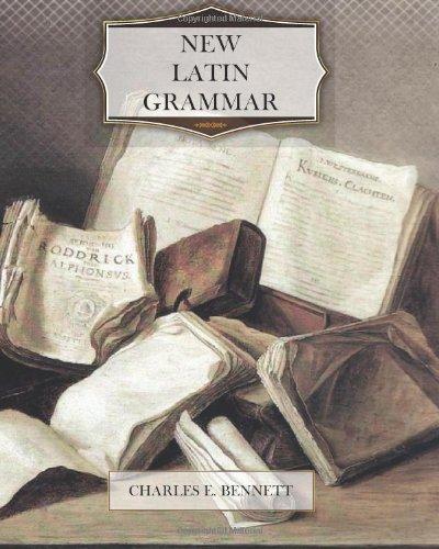New Latin Grammar