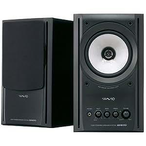 ONKYO WAVIO スピーカー 77monitorアンプ内蔵 15W+15W ハイレゾ音源対応 ブラック GX-77M(B)