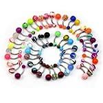 Lot de 50 nouveau piercing NOMBRIL ba...