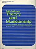 img - for Edith Mcintosh Theory and Musicianship - Book 3, Part 1 - Lessons with Work Sheets & Supplements: Chord Vocabulary, Cadences, Transposition, Modulation, Keyboard Supplement book / textbook / text book