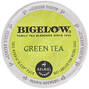 Amazon Com Bigelow Green Tea Keurig K Cups 18 Count