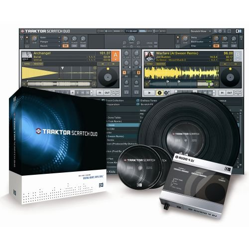 Native Instruments TRAKTOR SCRATCH DUO DJ Software/Hardware Package, ¹