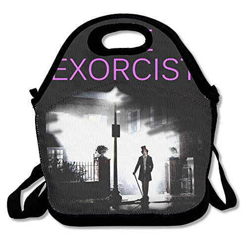 The Exorcist Horror Movie Poster Casual Lightweight College Backpack Laptop Bag School Travel Daypack (Cult Movie Poster Pack compare prices)