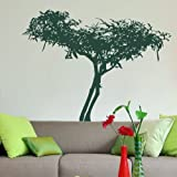 Bonsai Type Tree Wall Sticker / Wall Decal Art / Large Tree Wall Transfer ne68