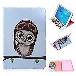 Galaxy Tab S2 9.7 Case,SKYLMW Cartoon Cute Design PU Leather Flip Stand Case with [Cards Slots & Money Holder] Smart Protective Cover for Samsung Galaxy Tab S2 9.7