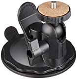 REC-MOUNTS カメラ用 サクションカップマウント(吸盤スタンド) ゲル素材タイプ ダュシュボードに直接 装着出来る吸盤 REC-B43G