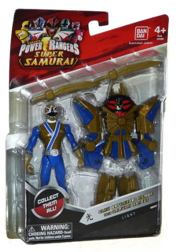 "Saban's Power Rangers Super Samurai Claw Battlezord Armor With 4"" Light Ranger"