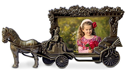 Olivery Horse Carriage Photo Frame - 4