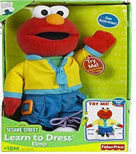 Fisher-Price® Sesame Street Learn To Dress Elmo
