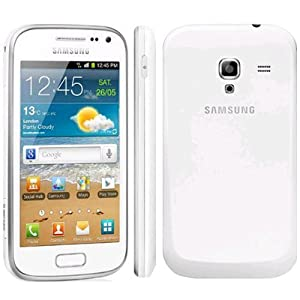 Samsung - Galaxy Ace 2 i8160 White Factory Unlocked 4GB 5MP Droid