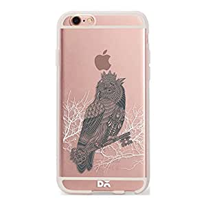 DailyObjects Owl King Silicone Clear Case For iPhone 6S