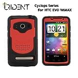 日本初上陸! 高耐衝撃性+防塵機能 Trident Case Cyclops for HTC EVO WiMAX Red トライデントケース サイクロプス レッド au ISW11HT ケース
