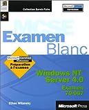 echange, troc Microsoft Corporation - Examen blanc Microsoft Windows NT Server 4.0 examen 70-067