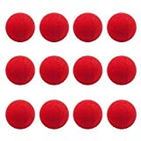 Idealgo 25-pack of Novelty Red Foam Clown Noses Party Supplies Party for Wedding Party Halloween Carnival Costume Activity