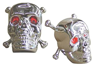 Nirve Skull And Crossbones Ornament Bike Light