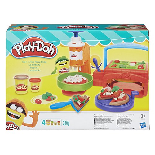 Play-Doh - Argilla e pasta modellabile Pizza Shop