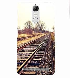 PRINTSOPPII VINTAGE Back Case Cover for Lenovo K5 NOTE::Lenovo Vibe K5 Note Pro