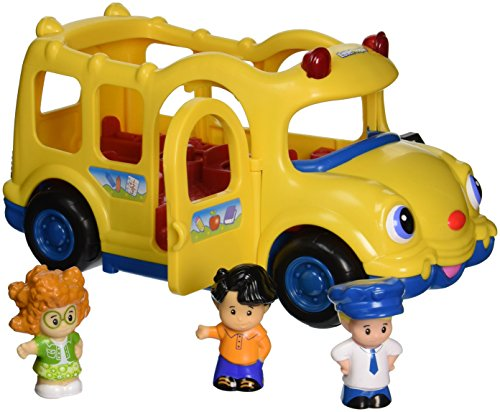 Fisher-Price Little People Lil' Movers Baby School Bus JungleDealsBlog.com