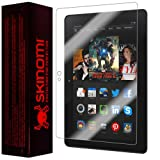 "Skinomi TechSkin - Amazon Kindle Fire HDX 7"" (Wifi + LTE) Screen Protector Ultra Clear Shield + Lifetime Warranty"