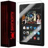 """Skinomi TechSkin - Amazon Kindle Fire HDX 7"""" (Wifi + LTE) Screen Protector Ultra Clear Shield + Lifetime Warranty"""