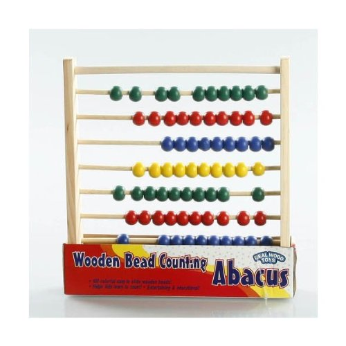 Wooden Bead Counting Abacus
