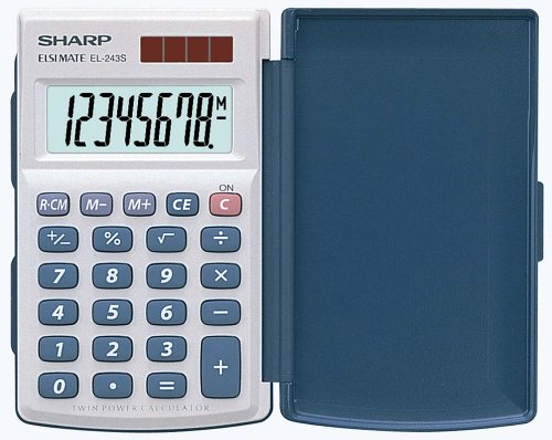 sharp-calculator-el-243s-calculadora-basica-plateado
