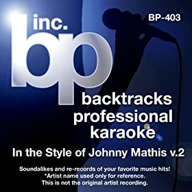 When Sunny Gets Blue (Karaoke Instrumental Track)[In the Style of Johnny Mathis]