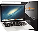 FlexShield [3-Pack] - Apple MacBook Pro 13 (2013) Screen Protector with Lifetime Replacement Warranty - Ultra Clear Japanese PET Film - Bubble-Free HD Clarity with Anti-Fingerprint & Scratch Resistance