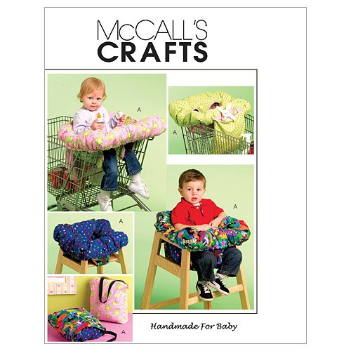 51KRAexuagL McCalls Patterns M5721 three In 1 Shopping Cart Cover, One particular Size Only