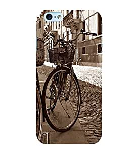 Fuson Premium Back Case Cover My Cycle With Multi Background Degined For Apple iPhone 6