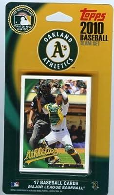MLB Oakland Athletics Licensed 2010 Topps® Team Sets
