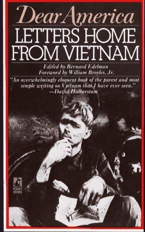 DEAR AMERICA: LETTERS HOME FROM VIETNAM, Edelman,Bernard/ McCarthy,Paul