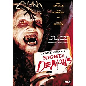 Click to buy Scariest Movies of All Time: Night of the Demons from Amazon!