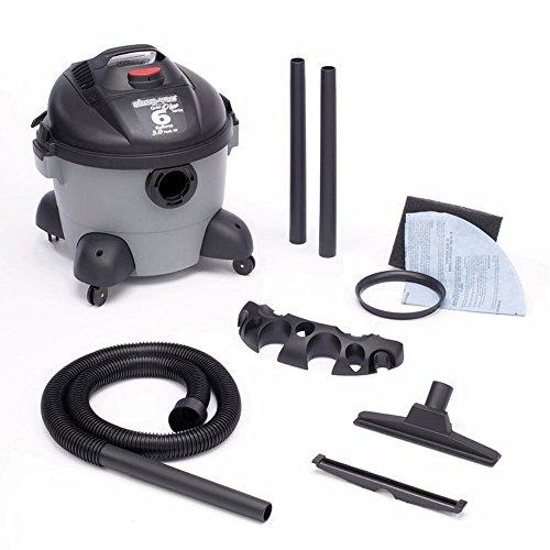 Shop-Vac 5980700 6-Gallon 2.75 Peak HP Quiet Plus Series Wet Dry Vacuum (Shop Vac Quiet Series compare prices)